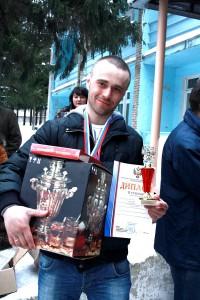 Чемпионат России по мормышке в Туле 2012