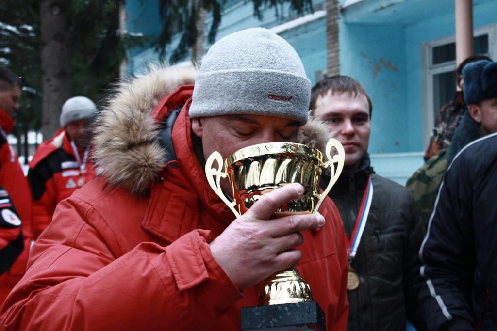 Радзишевский С.Э. после Чемпионата России по мормышке в Туле в 2012г.